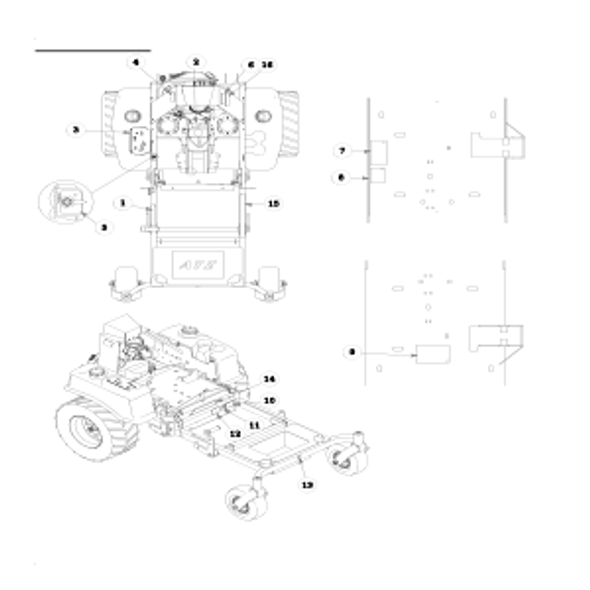 Parts lookup for HUSTLER ATZ 928143EX - Mower Decals