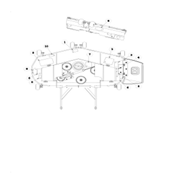 "Parts lookup for HUSTLER ATZ 928150EX - 72"" and 60"" Side Discharge Deck Decals (XR7)"