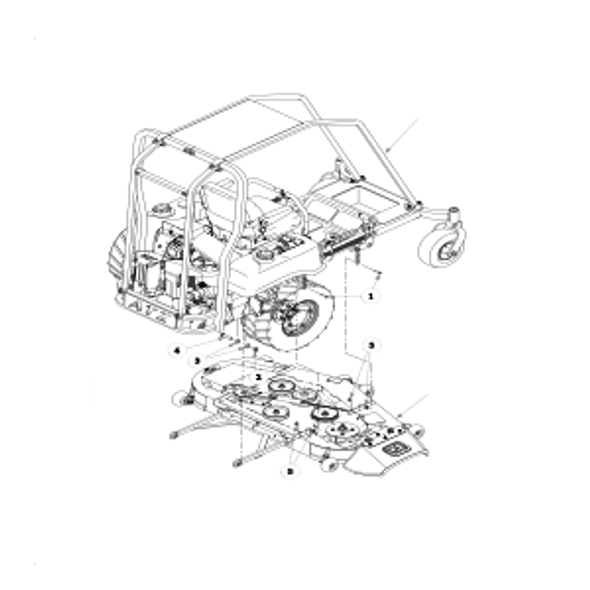 Parts lookup for HUSTLER ATZ 928150 - Deck Installation