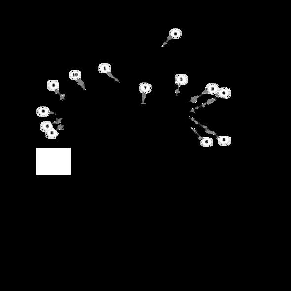 "Parts lookup for HUSTLER ATZ 928150 - 72"" and 60"" Side Discharge Deck Decals (XR7)"