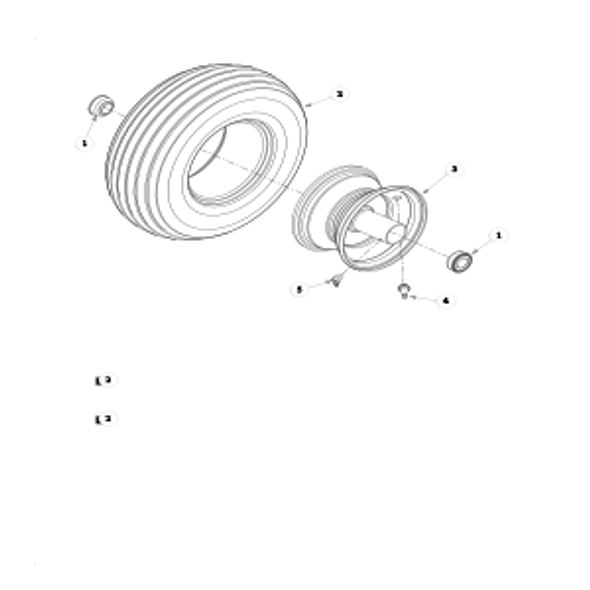 Parts lookup for SUPER MINI Z 927533HT - Front Wheel Breakdown - 786061