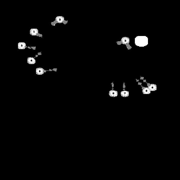 "Parts lookup for HUSTLER FASTRAK SD 928374EX - 60"" Deck Decal"