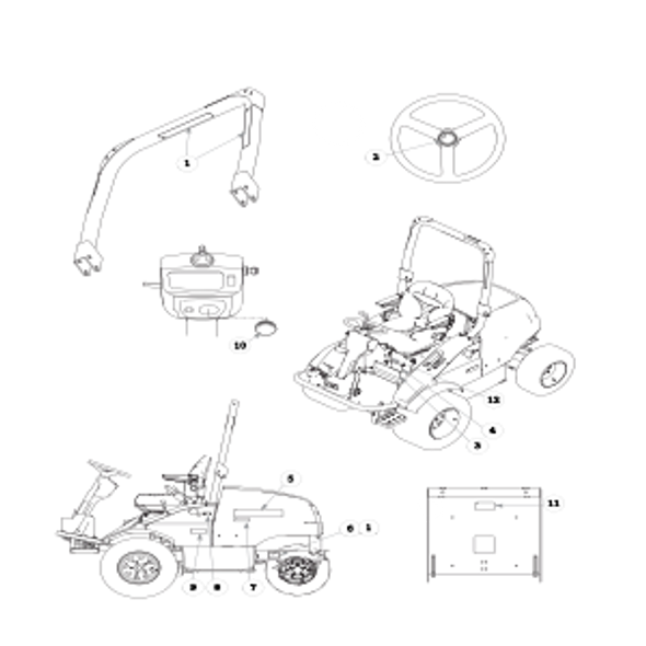 Parts lookup for HUSTLER 3500 / 3700 AWD Front Mount Diesel 928705 - Power Unit Decals - S/N 09080000 and higher