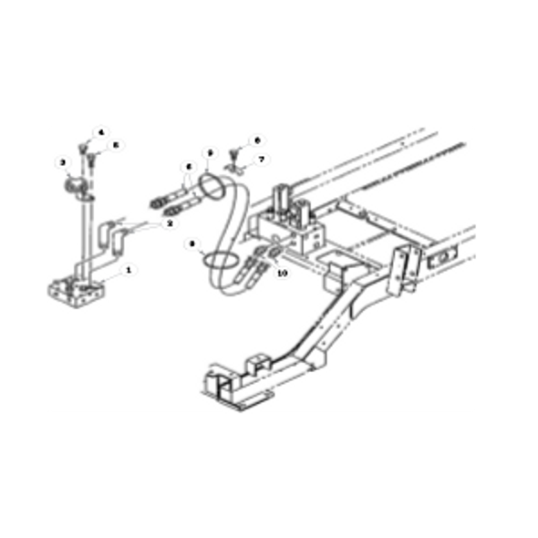 Parts lookup for HUSTLER 7500 / 7700 928762 - Hydraulic System - Reel Solenoid Valve to Front Valve