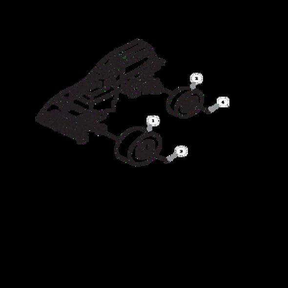 Parts lookup for HUSTLER 7500 / 7700 928770 - Wheel Assembly
