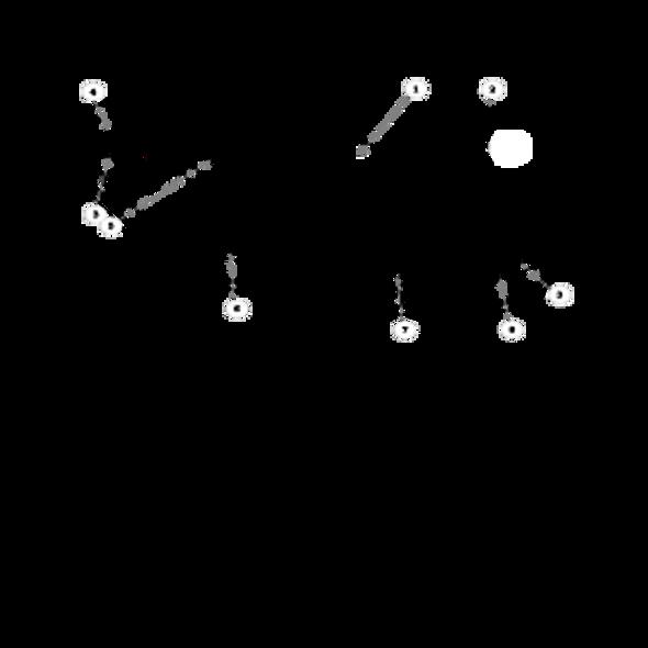 "Parts lookup for HUSTLER TRIMSTAR 929273 - Deck Decal Assembly 48"""