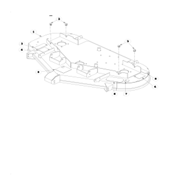 "Parts lookup for HUSTLER Z4 929406 - 48"" Deck Decal"