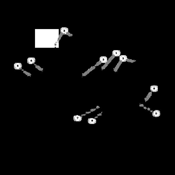 Parts lookup for HUSTLER X-ONE 930529US - Side Discharge Service Deck (0536)