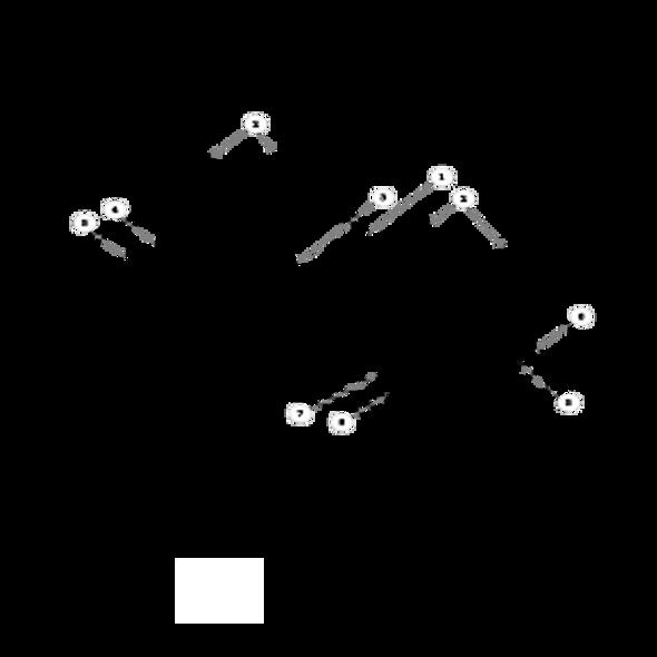 Parts lookup for HUSTLER X-ONE 932251 - Side Discharge Service Deck (1105)