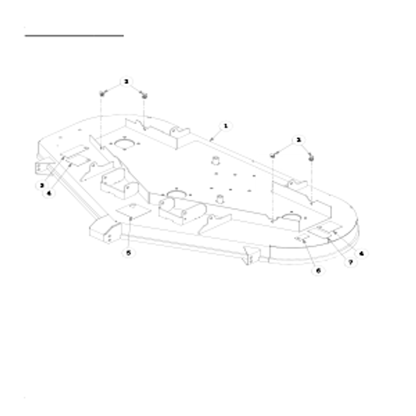 """Parts lookup for HUSTLER FASTRAK 930107 - 60"""" Service Deck"""