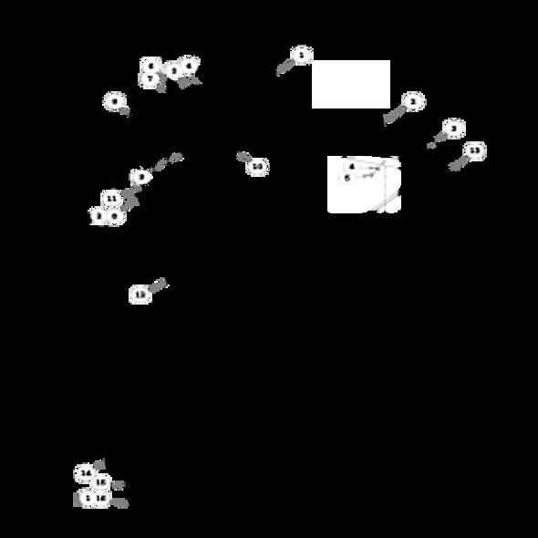 Parts lookup for HUSTLER FASTRAK 932814 - Deck (1320)