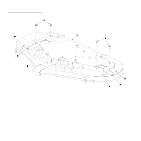 Parts lookup for HUSTLER FASTRAK 930115EX - Service Deck (0196)