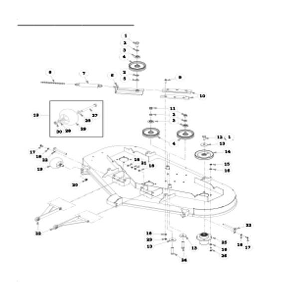 Parts lookup for HUSTLER FASTRAK SD 930172EX - Deck Pulleys and Spindles (0262)