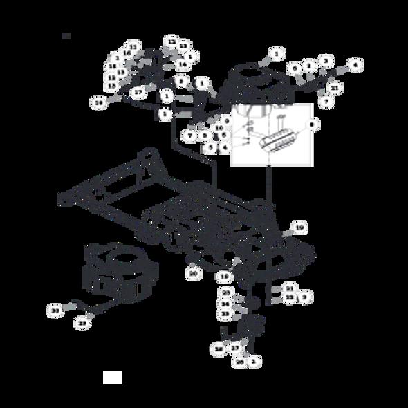 Parts lookup for HUSTLER SPORT 930198 - Engine Kawasaki (0280)