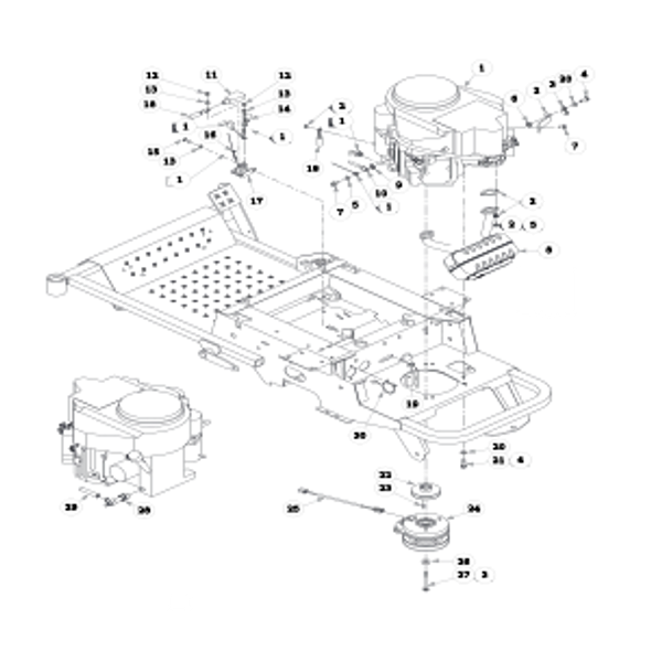 Parts lookup for HUSTLER SPORT 930222 - Engine Kawasaki (0321)