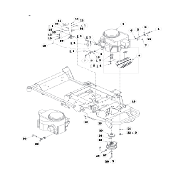 Parts lookup for HUSTLER SPORT 932285 - Engine Kawasaki (1130)