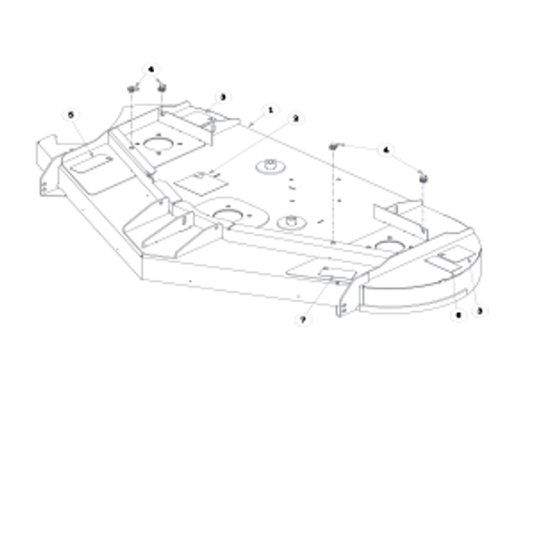 """Parts lookup for HUSTLER SPORT 933473EX - 54"""" Side Discharge Service Deck"""