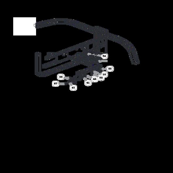 Parts lookup for HUSTLER 1500 929802US - Rear Lift Arm (0164)