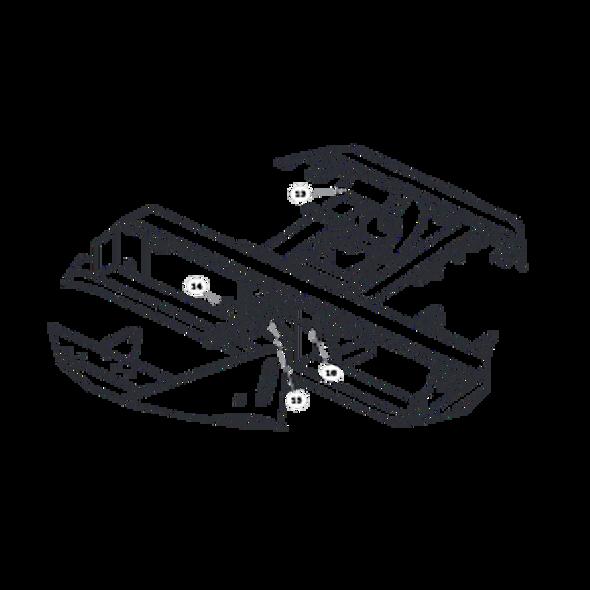 Parts lookup for HUSTLER 1500 929810US - Brake (0168)