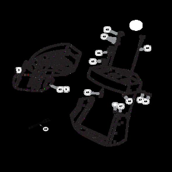 Parts lookup for HUSTLER TRIMSTAR 930412 - Instrument Panel (0464)