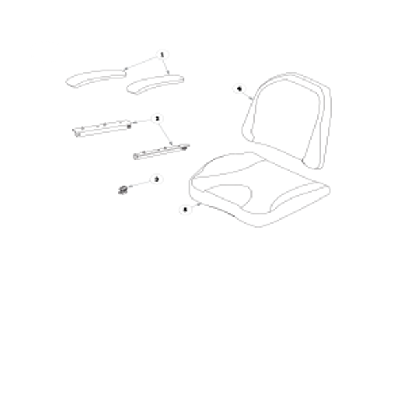 Parts lookup for HUSTLER RAPTOR 933077 - Seat Service Parts Seats Inc. 907 - Limited