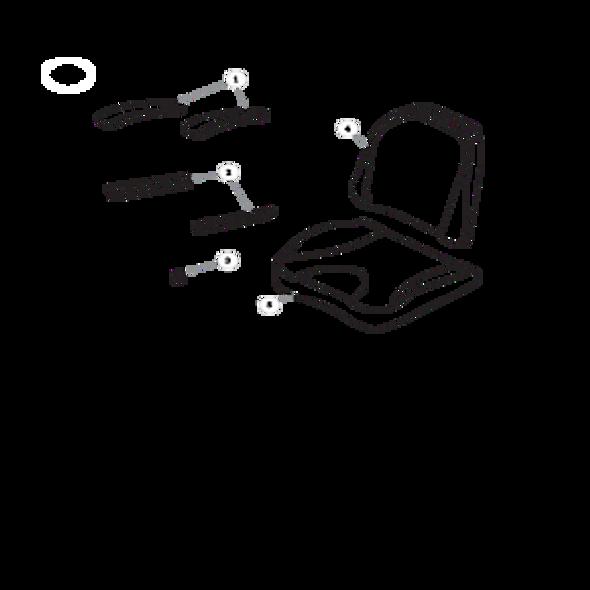 Parts lookup for HUSTLER RAPTOR 935817 - Seat Service Parts Seats Inc. 907 - Limited