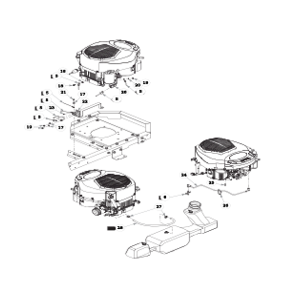 Parts lookup for HUSTLER RAPTOR 931881 - Engine Kohler - without Carbon Canister (0811)