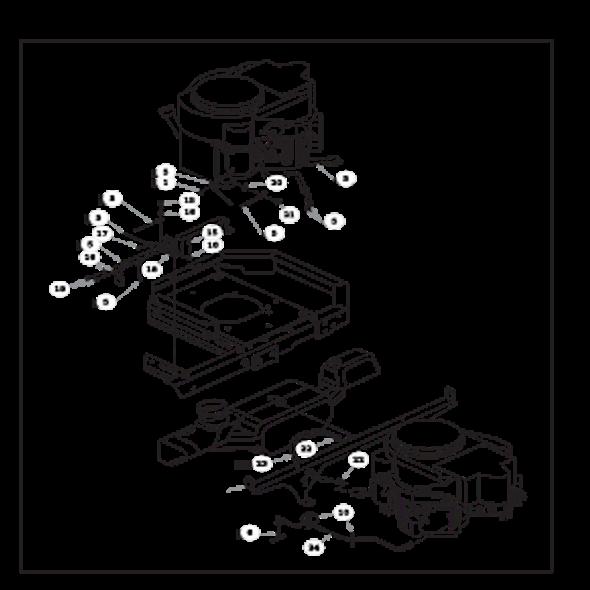 Parts lookup for HUSTLER RAPTOR 931899 - Engine Kawasaki FR651V and FR691V - without Carbon Canister (0816)