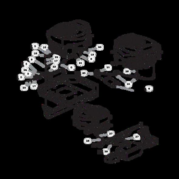Parts lookup for HUSTLER RAPTOR 932004US - Engine Kohler - with Carbon Canister (0886)