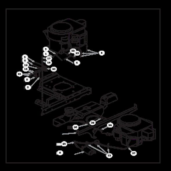 Parts lookup for HUSTLER RAPTOR 934802 - Engine Kawasaki FR541V - with Carbon Canister (2021)