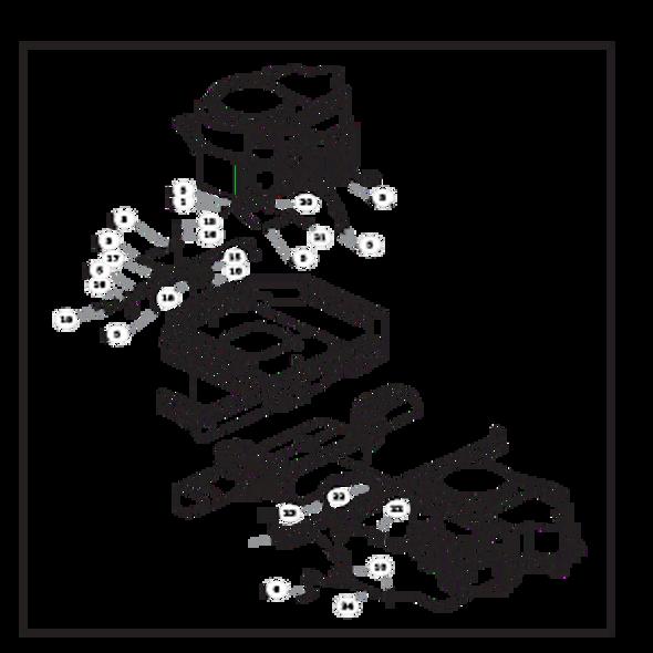 Parts lookup for HUSTLER RAPTOR 935734 - Engine Kawasaki FR651V and FR691V - without Carbon Canister (2236)