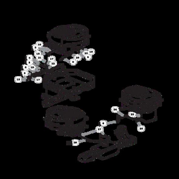 Parts lookup for HUSTLER RAPTOR 935767US - Engine Kohler - without Carbon Canister (2257)