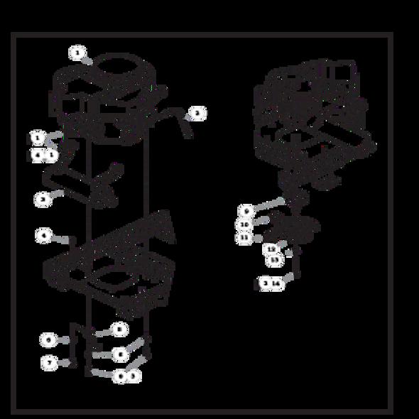 Parts lookup for HUSTLER RAPTOR 935817 - Engine Kawasaki FR651V and FR691V - with Carbon Canister (2267)