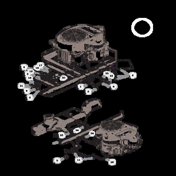 Parts lookup for HUSTLER RAPTOR 935817 - Engine Kawasaki FR691V - Limited (2268)