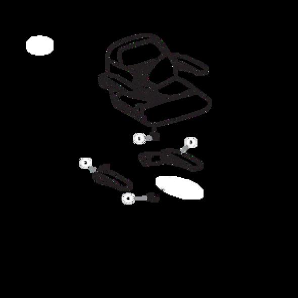 Parts lookup for HUSTLER RAPTOR 933382EX - Seat Service Parts - seats with Armrests