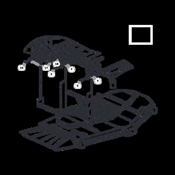 Parts lookup for HUSTLER ATZ 931915 - Deck Mounting Hardware