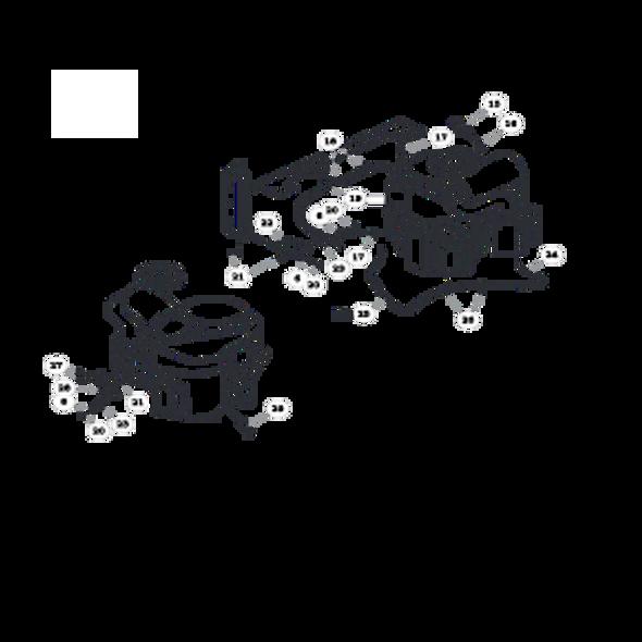 Parts lookup for HUSTLER ATZ 931915 - Engine Kawasaki Asaki FX1000V - S/N prior to 13050001 (0825)