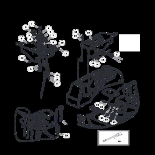 Parts lookup for HUSTLER ATZ 931915EX - Instrument Panel
