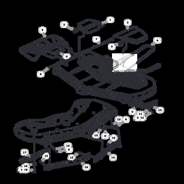 Parts lookup for HUSTLER ATZ 931915EX - Deck