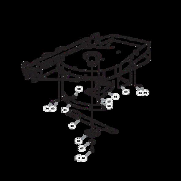 Parts lookup for HUSTLER SUPER 104 931931US - Right Side Deck - S/N prior to 16010000 (0840)