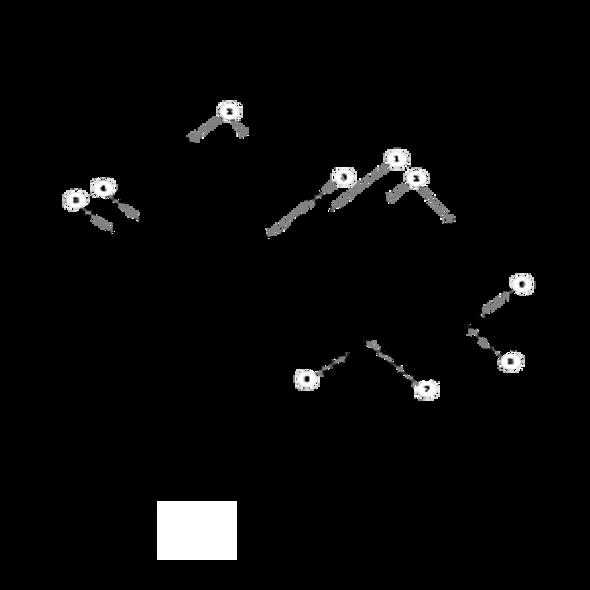 Parts lookup for HUSTLER SUPER Z 934240 - Side Discharge Service Deck (1783)