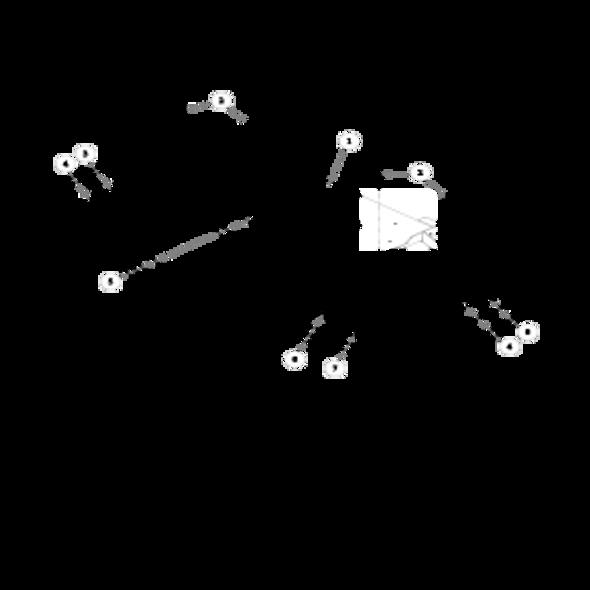 Parts lookup for HUSTLER SUPER Z 934265 - Side Discharge Service Deck (1813)