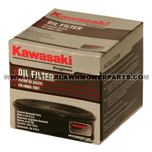 HUSTLER OIL FILTER KAW ENG. 602581 - Image 1