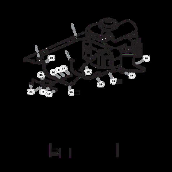 Parts lookup for HUSTLER SUPER Z HD 934711 - Engine Kawasaki FX850V (1979)