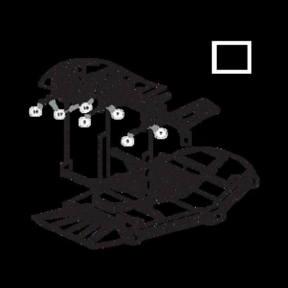 Parts lookup for HUSTLER SUPER Z HD 932178EX - Side Discharge Deck Mounting Hardware