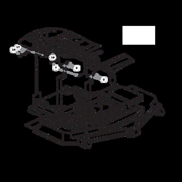 Parts lookup for HUSTLER SUPER Z HD 932178EX - Rear Discharge Deck Mounting Hardware