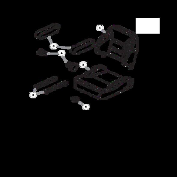 Parts lookup for HUSTLER FASTRAK 934851 - Seat Service Parts
