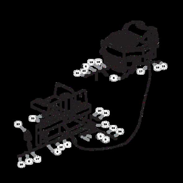 Parts lookup for HUSTLER FASTRAK 934851 - Engine Kohler (2042)