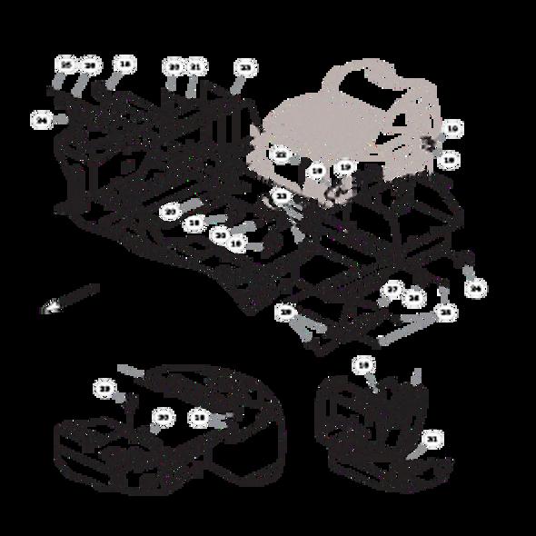 Parts lookup for HUSTLER FASTRAK 936088 - Fuel System Kohler (2341)