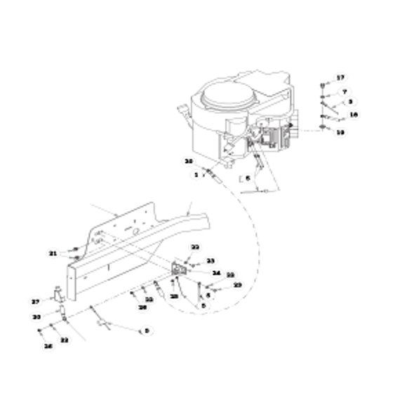 Parts lookup for HUSTLER FASTRAK 936104 - Engine Kawasaki (2345)